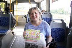 Лилия Коптева, медработникЧитает троллейбус, читает весь город Наша акция