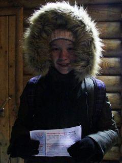Дарья, 10 класс школы № 3В Иордань за чудом и здоровьем Крещение