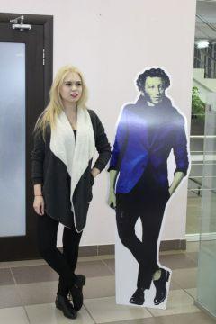 Фото с Пушкиным.Добро пожаловать в кино, или Посторонним вход разрешен Национальная библиотека Чувашской Республики библионочь