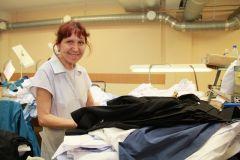Мария Кобылова.Одевающие мужчин Человек труда 10 июня — День работников легкой и текстильной промышленности
