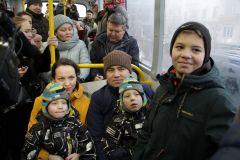 Семья Филипповых планирует ездить к бабушке на троллейбусе.Первый междугородний пошел! троллейбус Чебоксары - Новочебоксарск Историческое событие