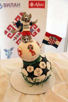 Работа пермских кондитеров посвящена чемпионату мира по футболу.На кухне – только шедевры! Гостеприимная Чувашия Гостеприимная Чувашия-2012