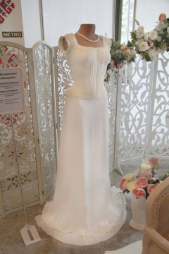 Платье для невесты выполнено в натуральную величину (автор Ирина Щетинина).На кухне – только шедевры! Гостеприимная Чувашия Гостеприимная Чувашия-2012