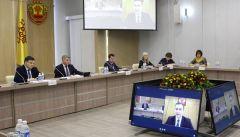 Заседание советаКадровые вопросы обсудили на первом заседании специально созданного совета при Главе Чувашии  Глава Чувашии Олег Николаев