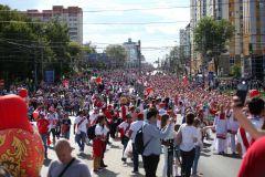 Улицы Саранска заполонили болельщики из Перу и Дании.Нам нужна только победа ЧМ-2018