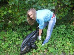 IMG_1285.JPGО роще заботятся капитально уборка мусора Ельниковская роща Всем городом - против мусора
