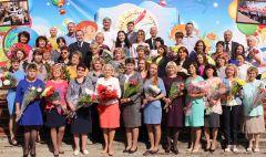 Школа № 3. 1 сентября 2017 года.Школы Новочебоксарска отмечают юбилеи
