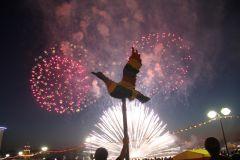 IMG_1987.JPGФеерия огня и музыки Салют Международный фестиваль фейерверков День Республики-2015