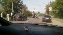 Фото с сайта: https://vk.com/nchek_secretВ Новочебоксарске на одном и том же переходе произошли два ДТП, одно — смертельное переход наезд на пешехода ДТП