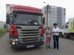Фото из архива ОГИБДД ОМВД РФ по НовочебоксарскуВ госавтоинспекции взялись за грузовики Хватит погибать на дорогах! Рейд