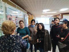 Студенты ЧГПУ познакомились с историей «Химпрома» Химпром