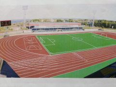 После реконструкции новочебоксарский Центральный стадион будет отвечать всем современным требованиям для тренировок спортсменов и проведения соревнований. 100 миллионов на ремонт городского стадиона
