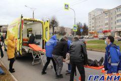 В Новочебоксарске на зебре сбили пешехода ДТП