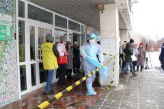 После обнаружения вируса поликлиника закрывается на санобработку.Вирус не проскочит. В Чувашии прошли учения по защите от коронавируса коронавирус
