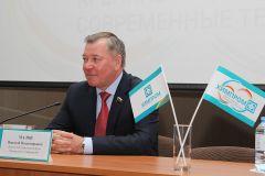 ПАО «Химпром» с рабочим визитом посетили Николай Малов и Ольга Чепрасова Химпром