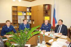 Главный федеральный инспектор по Чувашской Республике провел выездной прием граждан Главный федеральный инспектор по Чувашии