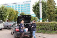«Химпром» предоставил антисептик детским садам города Химпром