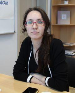 Представитель ЧКИ РУК Екатерина ИЛЛАРИОНОВА. Фото Максима БОБРОВААбитуриент-2020: Куда пойти учиться