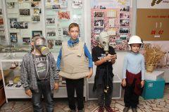 Музей «Химпрома» посетили воспитанники Новочебоксарского социально-реабилитационного центра Химпром