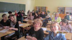 Перед диктантом в одной из аудиторий гимназии № 6. Фото автораУлан-Удэ и секреты русского правописания