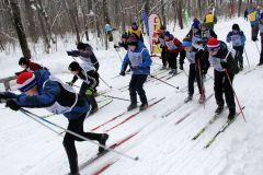 Забег мальчиков 2006-2007 г.р. на 1000 м. Фото Ирины ХАННАЗаряд бодрости, энергии,  отличного настроения. Более 8000 новочебоксарцев встали на лыжи Лыжня России-2019
