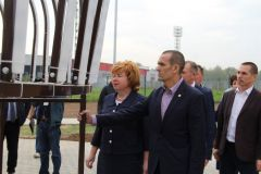 Михаил Игнатьев в Новочебоксарске6 сентября Михаил Игнатьев посетил Новочебоксарск Глава Чувашии в Новочебоксарске