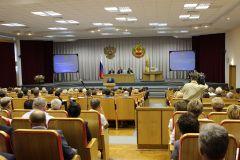 Итоги полугодия социально-экономического развития ПАО «Химпром» на заседании Кабмина ЧР Химпром