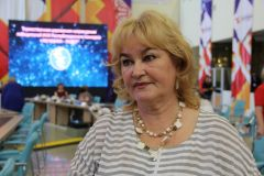 Елизавета АБРАМОВА, директор Чувашского государственного театра кукол, член президиума Союза женщин ЧувашииВо благо семьи, на пользу обществу Съезд женщин Чувашии