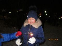Фото А.СергееваНовый год в Новочебоксарске начался с фейерверка