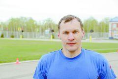 Александр Можаров, специальное управление № 17 за команду МЧССпортивный дух в каждом забеге юбилейной XXV легкоатлетическая эстафета на призы газеты ГРАНИ