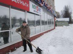 Пенсионер Виктор Афанасьев на рабочем месте.Спасибо за отличную работу