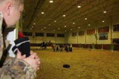 """IMG_5646.JPGНа манеже - \""""Волк и семеро козлят\"""" представление Новый год-2015 конно-спортивная школа выходной"""