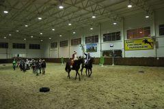 """IMG_5652.JPGНа манеже - \""""Волк и семеро козлят\"""" представление Новый год-2015 конно-спортивная школа выходной"""