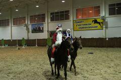 """IMG_5653.JPGНа манеже - \""""Волк и семеро козлят\"""" представление Новый год-2015 конно-спортивная школа выходной"""