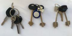 Ключи от дома, гаража и почтового ящика Бюро находок