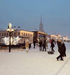 Пешеходная улица Малахия Белова — место массовых гуляний.Шуя — мыльная столица страны Шуя Путешествуем по России