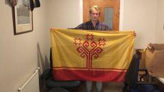 Флаг Чувашии добрался до Туманного Альбиона 100 лет Чувашской автономии