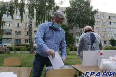 Голосование во дворах в Новочебоксарске