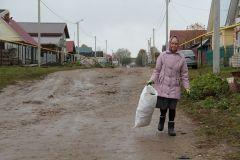 Фото Максима БОБРОВАМусорная реформа  добралась и до Ольдеево мусорная реформа