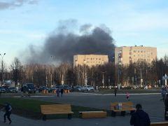 Фото И. Павловой.В Новочебоксарске горели покрышки пожар