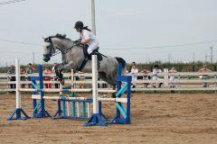 Фото Юрия НикандроваКрасна лошадь ездоком фоторепортаж