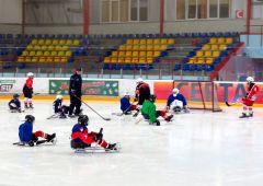 """Мастер-класс от """"Сокола-2007"""" следж-хоккей"""