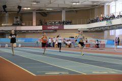 Полуфинальный забег девушек на 60 метров.Юбилейный мемориал  Владислава Надеждина Спорт — норма жизни
