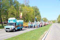 Химики приняли участие в параде Победы Химпром Бессмертный полк -2019