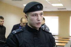 Командир чебоксарского отряда подполковник полиции Андрей ЕгоровПолицейский спецназ Росгвардии спецназ Росгвардия омон