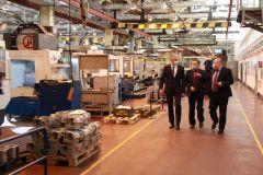 Министр промышленности и энергетики Чувашии Е.Герасимов посетил ОАО «АБС ЗЭиМ Автоматизация»