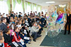 IMG_8914.jpg«Ростелеком» подарил детям праздник мыльных пузырей Филиал в Чувашской Республике ПАО «Ростелеком» День учителя