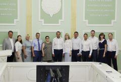 Заместитель гендиректора ПАО «Химпром» в программе «Приложение силы» Химпром