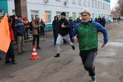 В честь 23 февраля на «Химпроме» прошел «Курс молодого бойца» Химпром