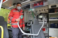 Так выглядит реанимационная машина скорой помощи, которая поступила на службу на подстанцию скорой помощи в Новочебоксарске. Фото Максима БоброваСкорая полностью обновилась скорая помощь